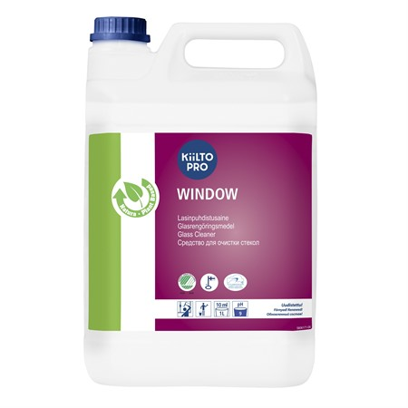 Window Spurt glasputs 5L Kiilto